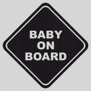 Baby Aufkleber mit Name